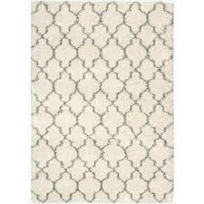 Moroccan Trellis Fabric Shop For Nourison Amore Cream Shag Area Rug 5 U00273 X 7 U00275 Get Free