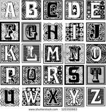 illuminated letters font typography alphabet ornamental