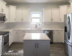 Staggered Cabinets Get The Most Efficient Kitchen By Dividing It Into Zones Whats