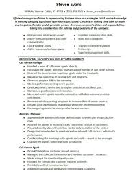Resume Templates For Customer Service Representatives Customer Service Call Center Resume Sample Resume Template And