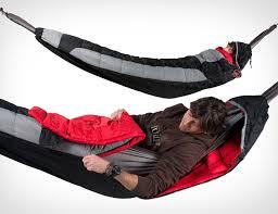 hammock compatible sleeping bag covers the entire hammock