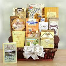 condolences gift condolences sympathy gift basket california delicious