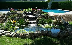 Backyard Pond Images Pond Design U0026 Installation Nassau County Paradise Ponds