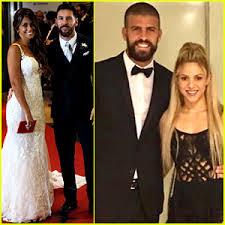 Lionel Messi Halloween Costume Shakira Attends Soccer Star Lionel Messi U0027s Wedding Antonella