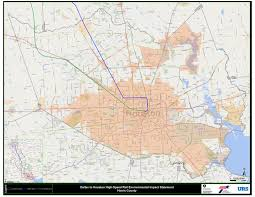 Dallas County Map by Dallas To Houston High Speed Rail Environmental Impact Statement