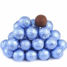 foiled milk chocolate balls buy bulk by the pound oh nuts