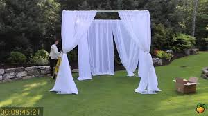 wedding backdrop using pvc pipe wedding canopy expo pipe and drape creating a wedding