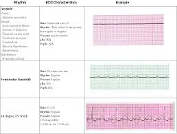 acls rhythms pg 6 of 7 saving american hearts inc aha acls bls