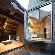 hutong hostel modern micro hotel squeezes into historic chinese