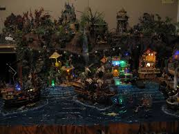 halloween village accessories 1272 best halloween village displays images on pinterest
