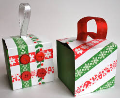 recycled gift box ornaments allfreepapercrafts