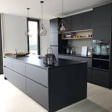 modern black kitchen cabinets 25 ultimate black kitchen designs that wow shelterness