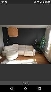 canapé cuir blanc design achetez canapé cuir blanc je occasion annonce vente à suresnes 92