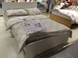 ikea double bed askvoll inc mattress perfect condition
