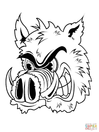 boar coloring pages getcoloringpages com