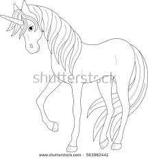 coloring pages of unicorns and fairies cute fairy unicorn coloring page stock vector 563962441 shutterstock