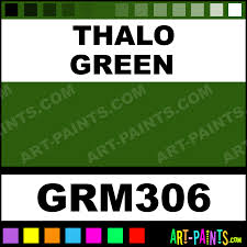 thalo green grumbacher oil paints grm306 thalo green paint