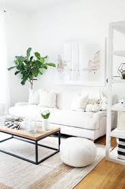 living room white couch 9 starter pieces everyone needs to build a dream home white