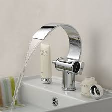 Bathroom Faucets Cheap by Best Bathroom Faucets With Brass Chrome Finish Waterfall Curve