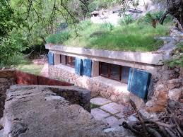 underground tiny house earth sheltered homes insteading