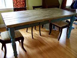 rustic dining room table with bench distressed kitchen table and chairs u2013 matt and jentry home design