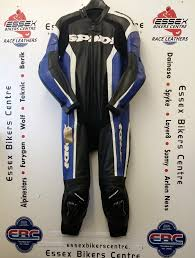 motorcycle racing leathers spidi rr wind pro one piece motorcycle race leathers black blue uk