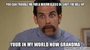 Shut The Hell Up Meme - glass of shut the hell up