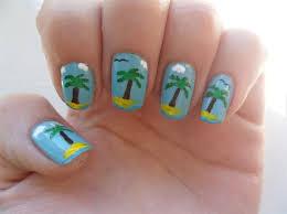 palm tree nails nail art gallery by nails magazine nail art