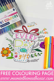 inspirational quotes colouring pages for adults and kids mum in