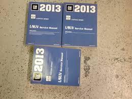 2013 chevrolet chevy captiva sport service shop repair manual set