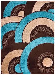 Chocolate Brown Area Rugs Awesome Chocolate Brown And Turquoise Rugs Roselawnlutheran
