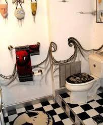 nightmare before christmas wastebasket set shower curtain