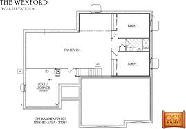 Finish Floor Plan Ccs Homes Iowa Home Builder Alan Sprinkle