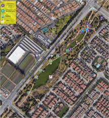 Cal State Fullerton Campus Map by