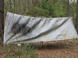 the hammock hut a easy to make hammock rain fly 4 steps with