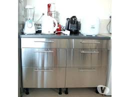 meuble cuisine en inox meuble cuisine inox pas cher meuble haut