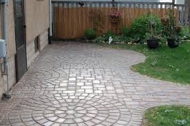patio stone pavers paver patios installed in the space coast titusville area