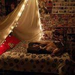 bedroom lighting 15 ideas to hang christmas lights in a bedroom