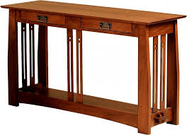 mission style console table sofa table design mission style sofa table awesome classic design