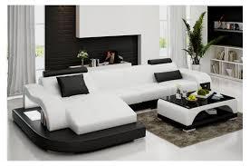 canapé d angle en cuir modèle team 1