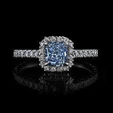 Blue Diamond Wedding Rings by Fancy Blue Diamond Rings Wedding Promise Diamond Engagement