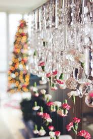 Cascading Chandelier by How To Cascading Chandelier Flower Garland U2013 Sisoo