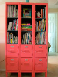 locker storage in kids rooms design dazzle ways to use metal