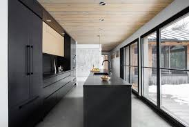 kitchen of the week black was the only way to go
