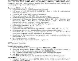 100 sap resume for freshers sample sap resume