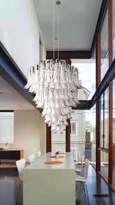 feather chandelier pendant l original design blown glass murano glass