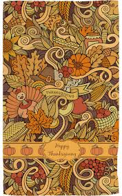 thanksgiving towel print personalized potty