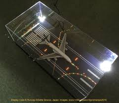 model airport runway lights delta groove 1 400 illuminated runway display case 1 400 reviews