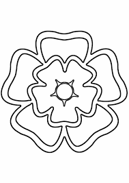 rose clip art outline easy rose drawings free download clip art on