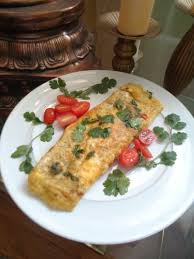 sunday indian omelette on the menu tangie u0027s kitchen